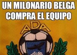 Enlace a Un milonario belga compra el equipo
