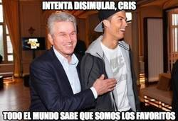 Enlace a Intenta disimular, Cristiano