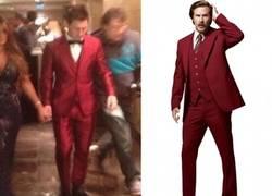Enlace a Messi revela la inspiración de su traje