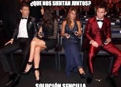Enlace a La solución de Cristiano y Messi para no sentarse juntos