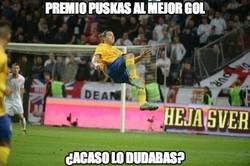 Enlace a Zlatan se lleva el premio Puskás al mejor gol