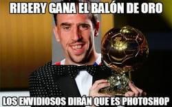 Enlace a Ribery gana el balón de oro