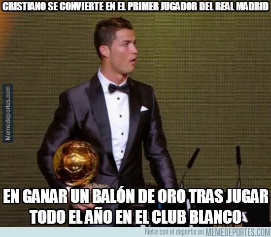 245896 - Cristiano se convierte en el primer jugador del Real Madrid