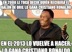 Enlace a Pelé es el amuleto secreto de Cristiano Ronaldo