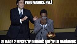 Enlace a Pero vamos, Pelé