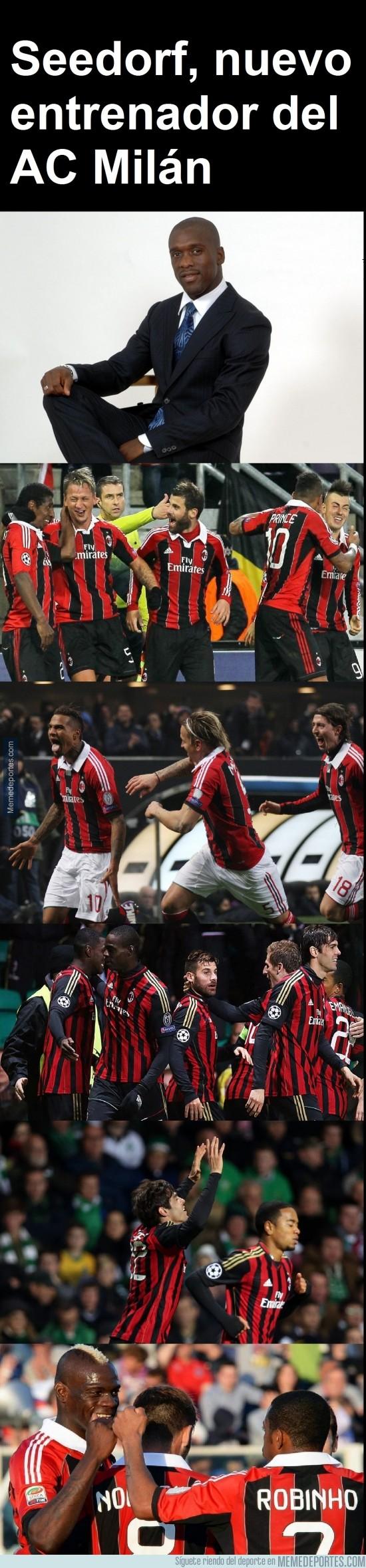 246926 - Seedorf se retira y será el nuevo entrenador del AC Milán.