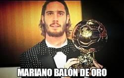Enlace a Mariano balón de oro