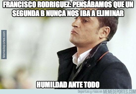 247193 - Francisco Rodríguez: Pensábamos que un Segunda B nunca nos iba a eliminar