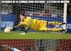 Enlace a Resumen de la eliminatoria Valencia - Atlético de Madrid