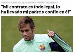 Enlace a Yo no estaría tan seguro, Neymar