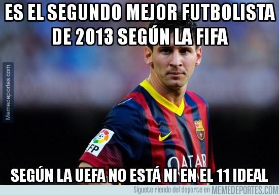 247647 - Es el segundo mejor futbolista de 2013 según la FIFA