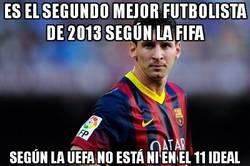 Enlace a Es el segundo mejor futbolista de 2013 según la FIFA