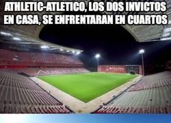 Enlace a Athletic-Atlético, los dos invictos en casa, se enfrentarán en cuartos