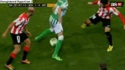 Enlace a GIF: Gran gesto técnico de Leo Baptistao ante el Athletic