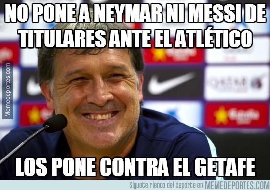 248403 - No pone a Neymar ni Messi de titulares ante el Atlético