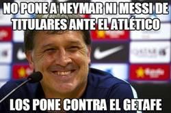 Enlace a No pone a Neymar ni Messi de titulares ante el Atlético