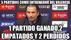 Enlace a 5 partidos como entrenador del Valencia