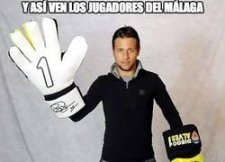 Enlace a Y así ven los jugadores del Málaga