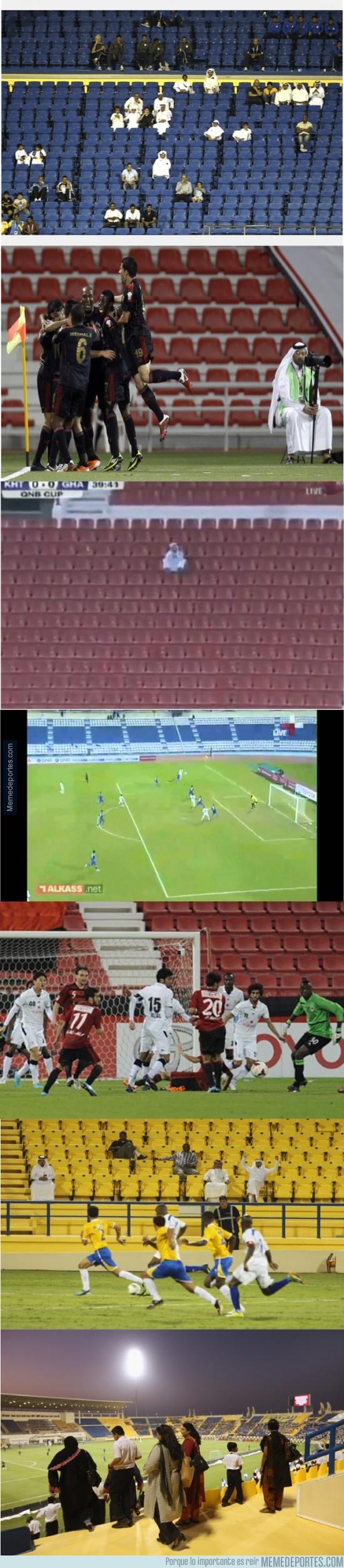 249266 - Señoras y señores, la FIFA le dio el mundial a Qatar por su gran cultura futbolística