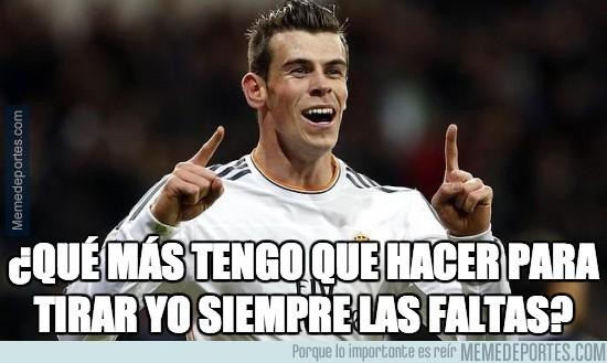 249314 - Bale se merienda a Cristiano en cuanto a lanzamientos de falta se refiere