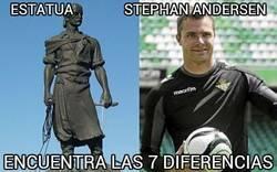 Enlace a Estatua vs Stephan Andersen