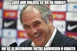 Enlace a ¿Así que Valdés se va en junio?