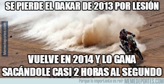 249632 - Se pierde el Dakar de 2013 por lesión