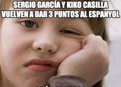 Enlace a Sergio García y Kiko Casilla vuelven a dar 3 puntos al Espanyol