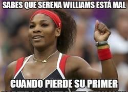 Enlace a Sabes que Serena Williams está mal