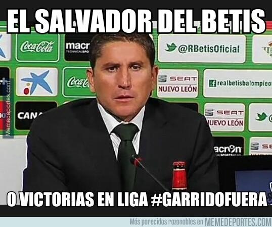 250344 - Garrido destituido en el Betis