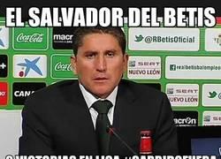 Enlace a Garrido destituido en el Betis