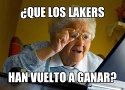 Enlace a Los Lakers, irreconocibles