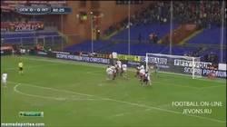 Enlace a GIF: El Gol de Antonelli que hunde más al Inter. Mala racha perdedora parecida a la del United