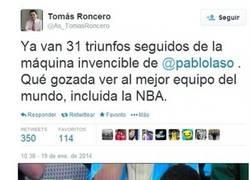 Enlace a Vamos, Tomás, que el Real Madrid de Básket es muy bueno, pero...