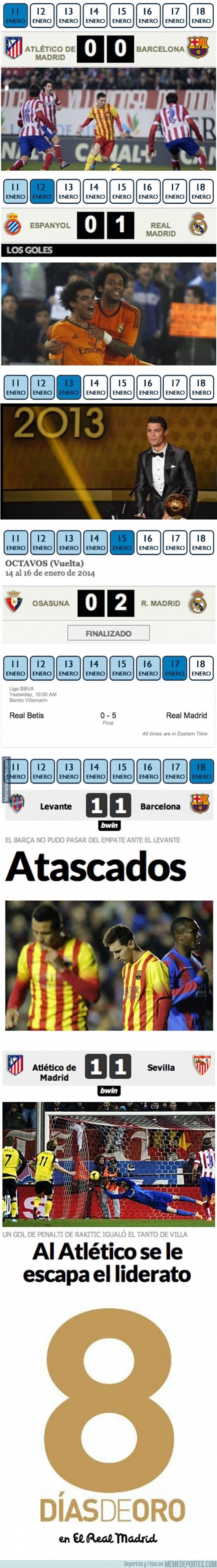 250646 - 8 Días de Oro en el Real Madrid