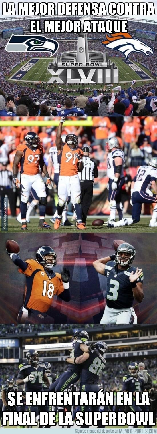 250783 - ¿Te gusta la NFL? La mejor defensa contra el mejor ataque