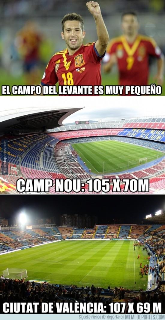 250873 - ¿Así que el Campo del Levante es muy pequeño, Jordi?
