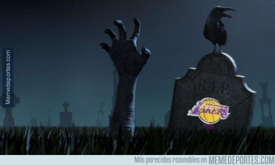 250891 - Situación de Lakers en este momento tras ganar 2 partidos seguidos