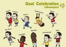 Enlace a Celebraciones de fútbol