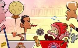 Enlace a Ribery aún no ha digerido que haya ganado Cristiano