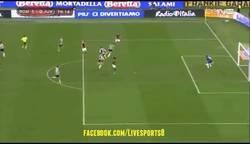 Enlace a GIF: Gol de Gervinho que deja a la Juve fuera de la Coppa de Italia