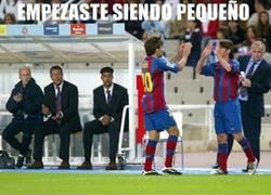 Enlace a Messi, 400 partidos con el Barça, ¡Felicidades Leo!