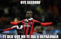 Enlace a Parece que Balotelli vuelve a estar enchufado con Seedorf