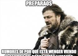 Enlace a Preparaos, Wenger espiando al Barça