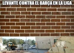 Enlace a Levante contra el Barça en la liga