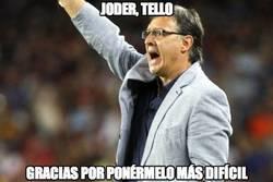 Enlace a Joder, Tello