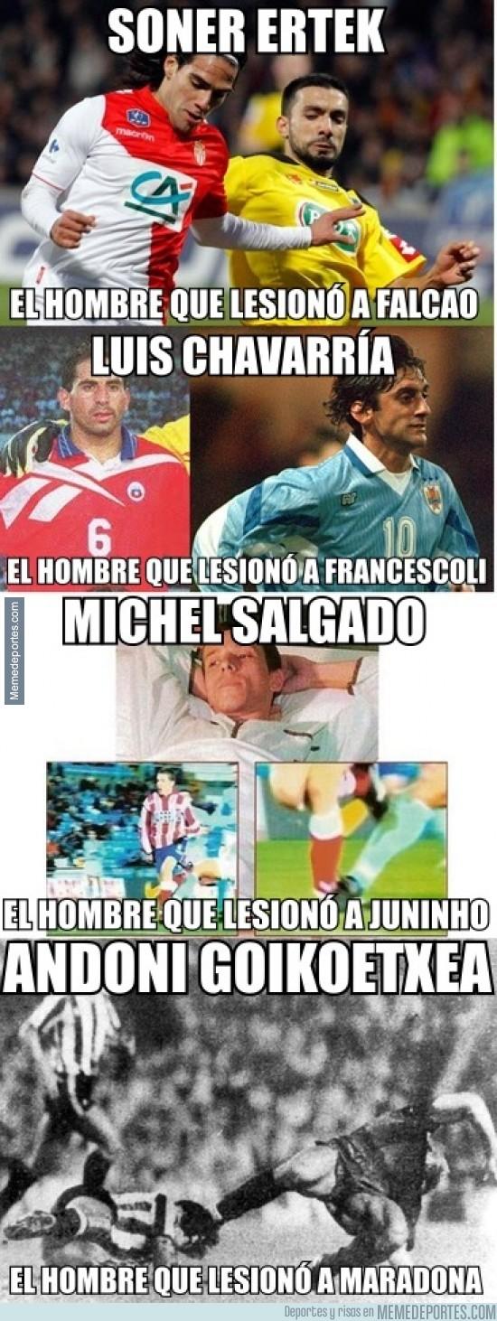 253237 - Algunos perpetradores de las lesiones más tristes del Fútbol