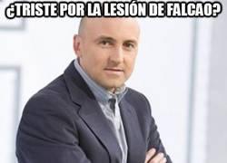 Enlace a ¿Triste por la lesión de Falcao?