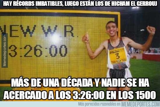 253604 - Hay récords imbatibles, luego están los de Hicham El Gerrouj