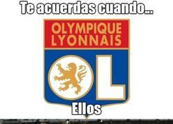 Enlace a El viejo Olympique de Lyon